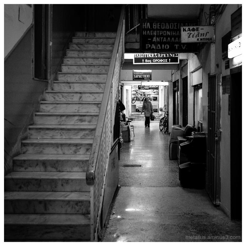 Urban scene at Thessaloniki Greece