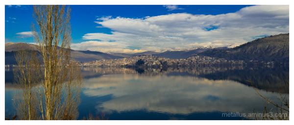 Lake of Kastoria, Greece