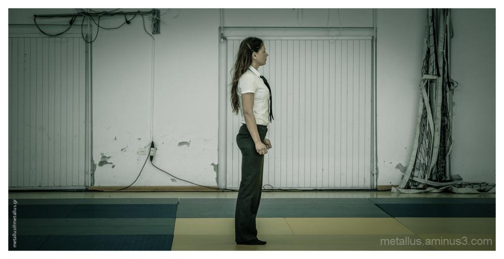 Judo referee, Litohoro, Pieria, Greece 2013