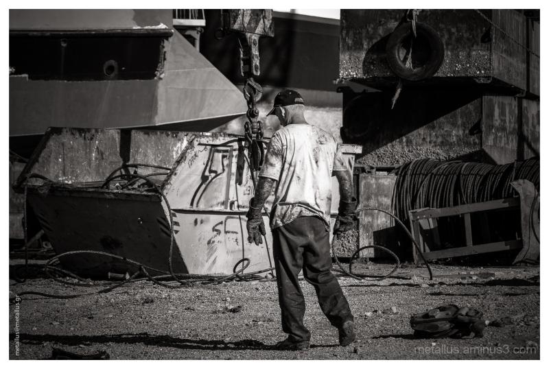 A shipyard at Thessaloniki, Greece 2013