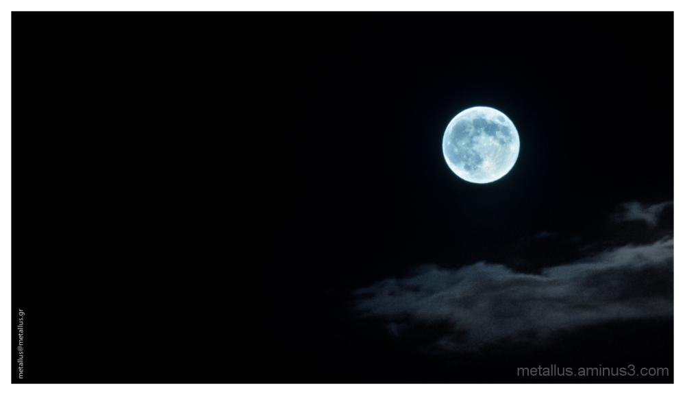 Blue moon, Thessaloniki, Greece 2013