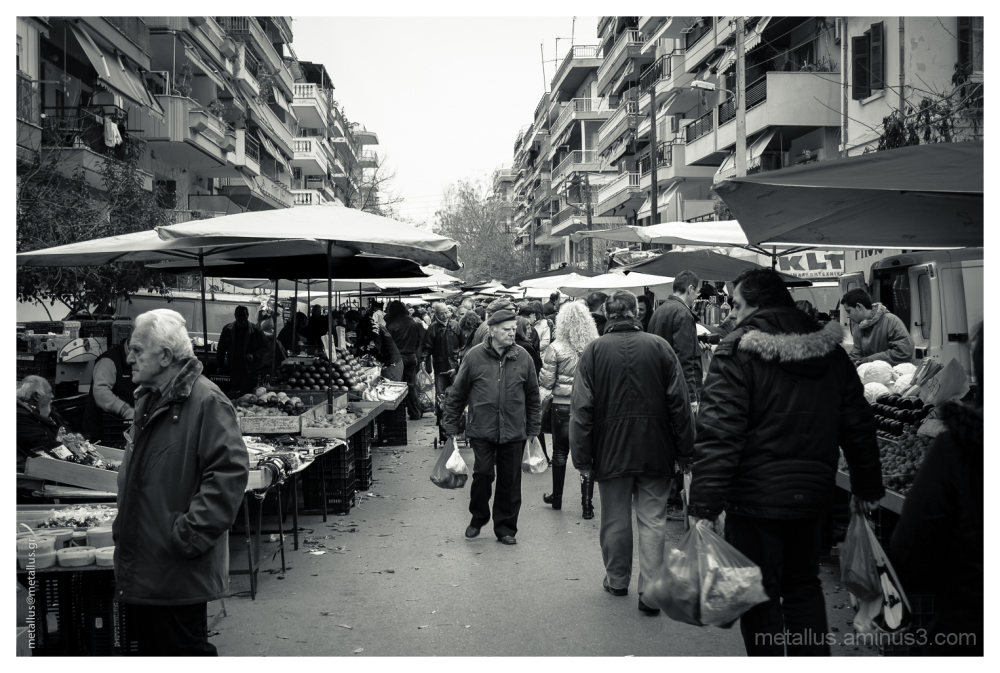 Public Market at Thessaloniki, Greece 2013