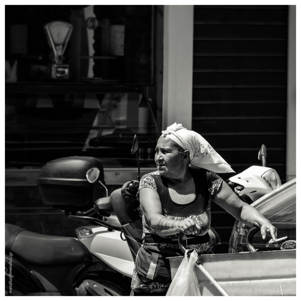 A Woman, Thessaloniki, Greece 2013