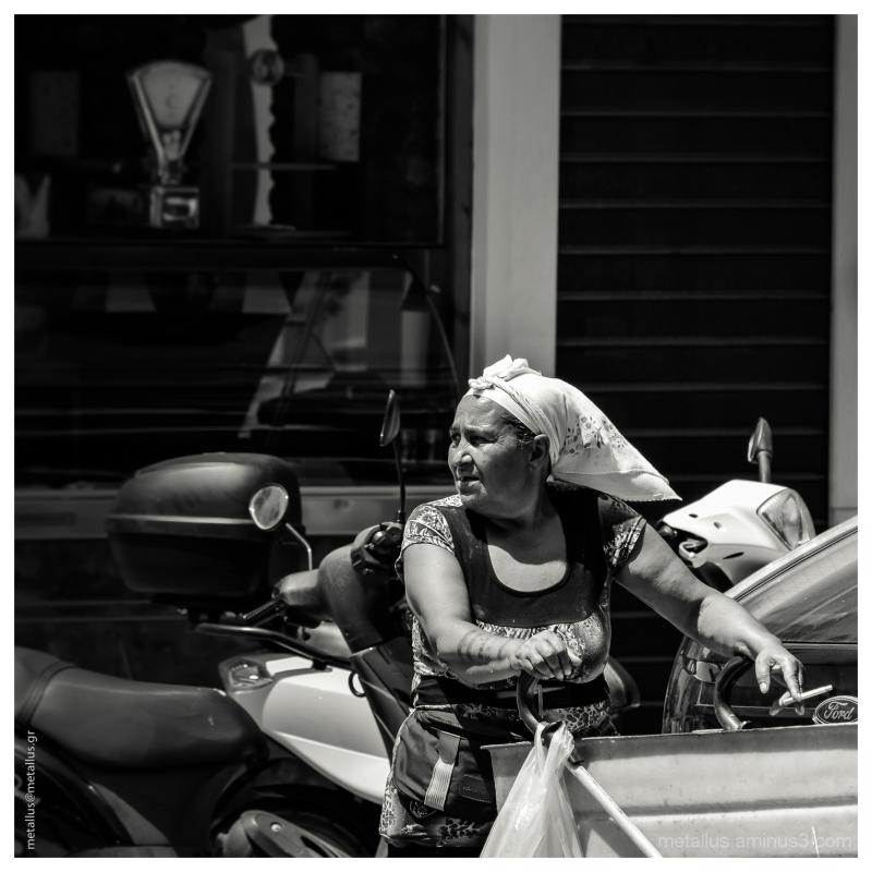 A Woman, Thessaloniki, Greece 2013