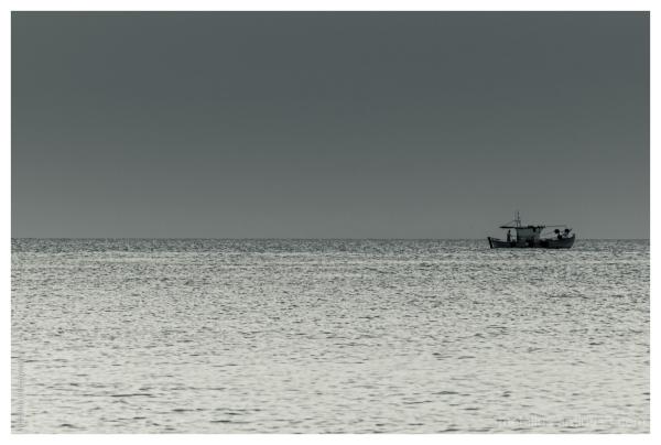 A boat at Posidi halkidiki greece 2013