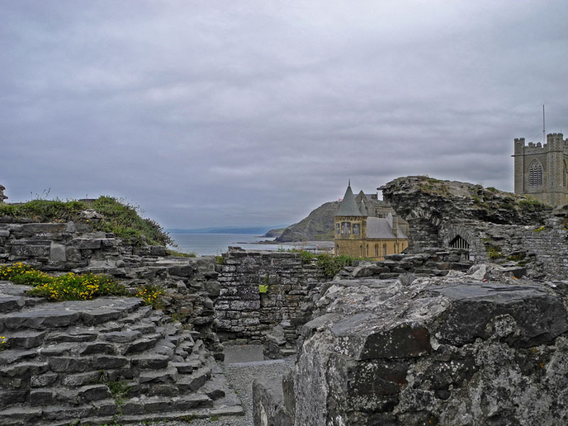 Aberystwyth Castle and University