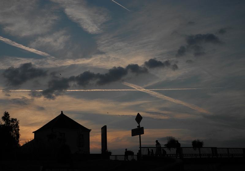 Sky at Saint-Florent-le-Vieil