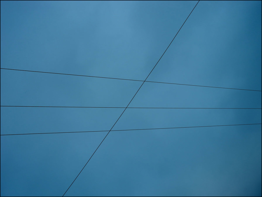 Parallel lines intersected
