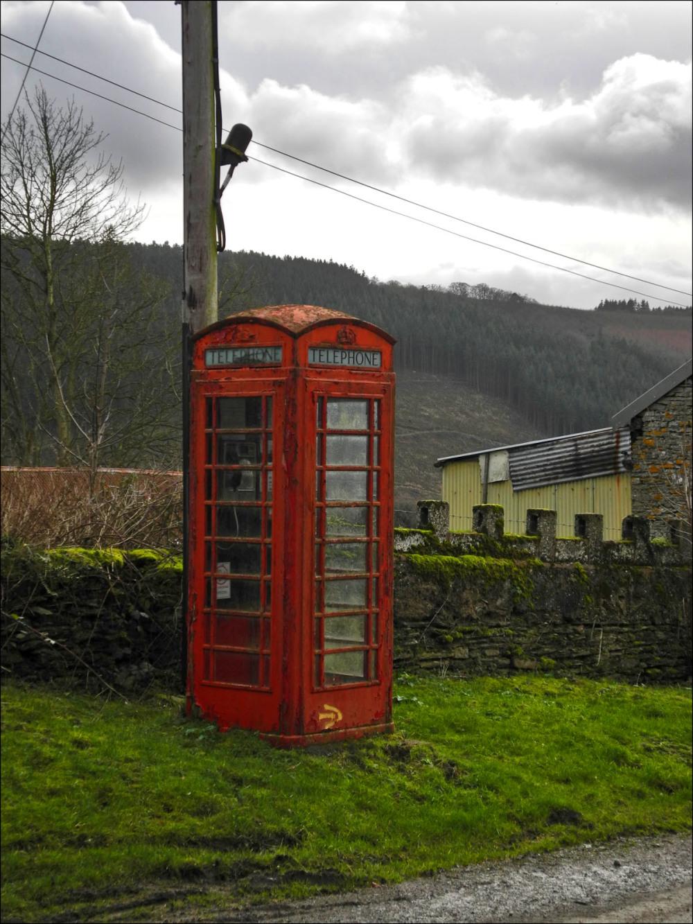 The Great British Telephone Box
