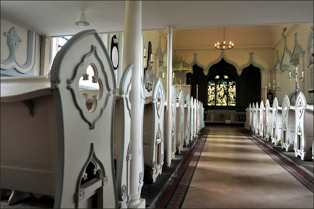 Shobdon Strawberry Gothic Church