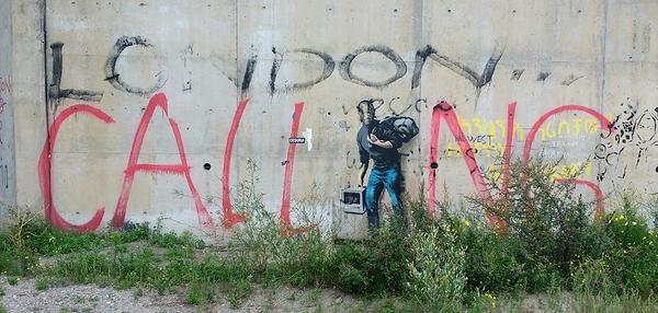 Banksy at Calais.