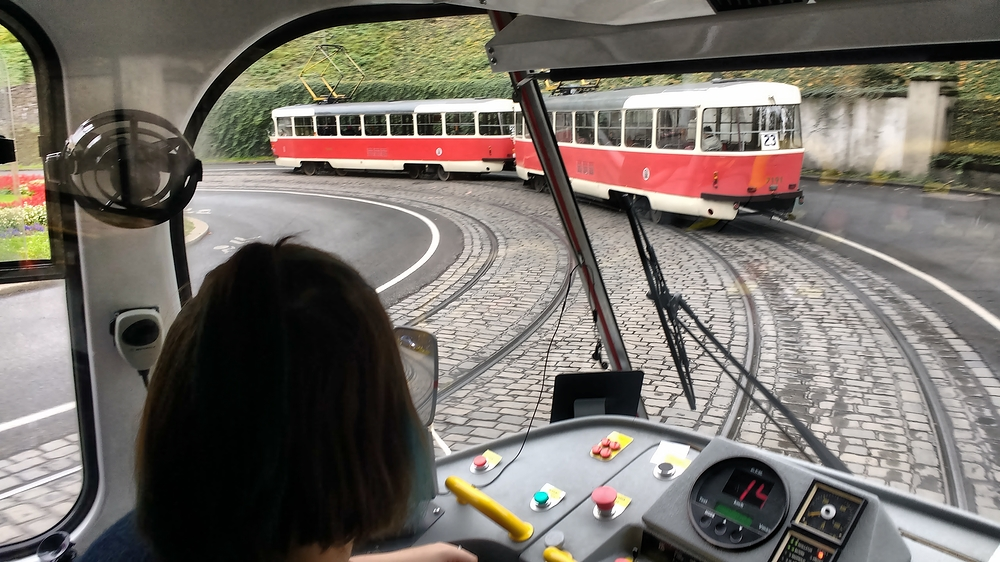 Drive that Tram Ma'am
