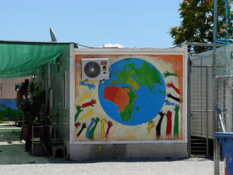 Elaionas Refugee Camp 2