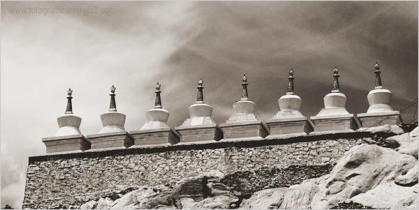 Ladakh Monastery Stupa