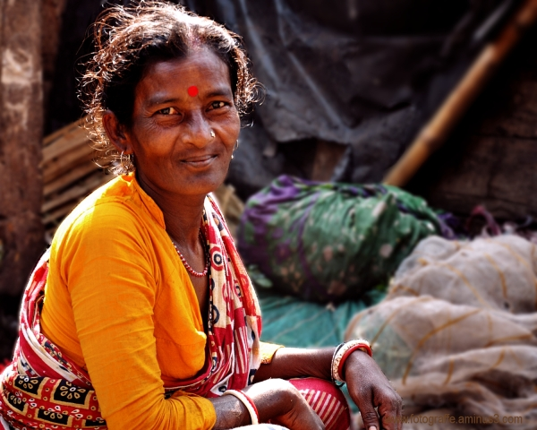 Indian Rural Women in the market