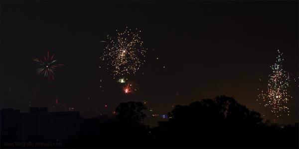 Fireworks in Diwali