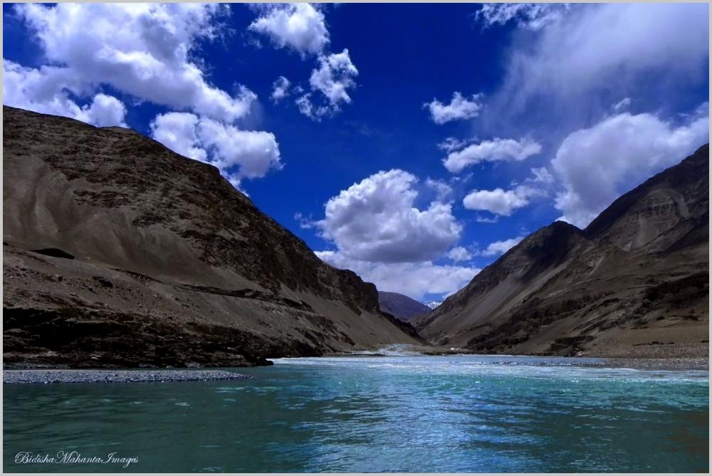 Sangam, Ladakh India