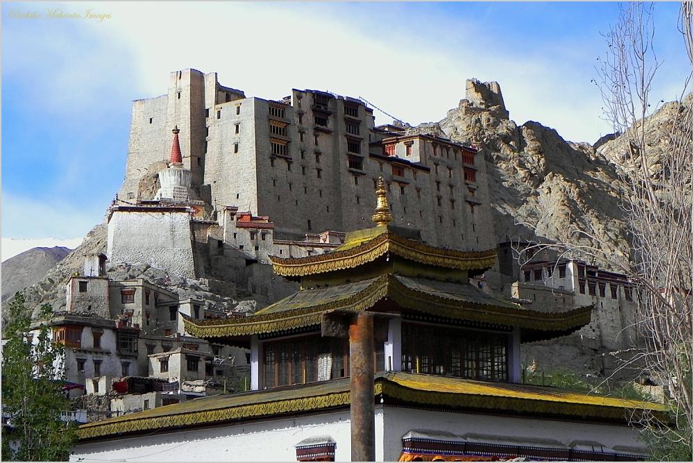 Leh Palace from Leh town