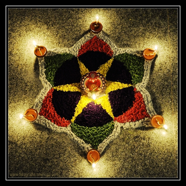 Diya Diwali Deepavali Rangoli