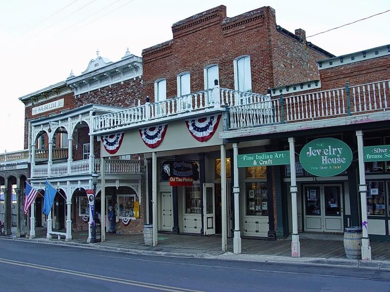 Virginia City silver mines