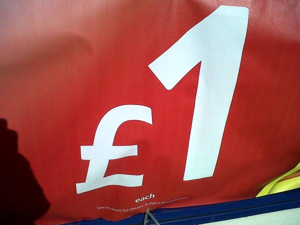 £1 each