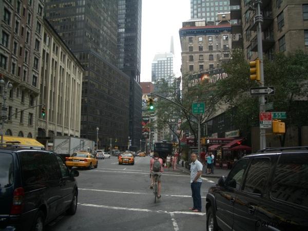 Manhattan Street  NYC