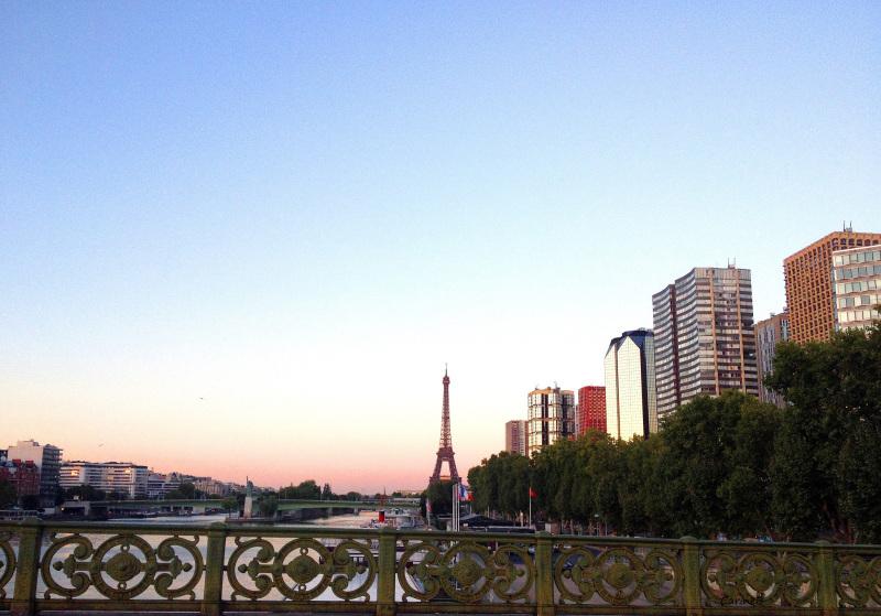 Effeil Tower Paris Brigde