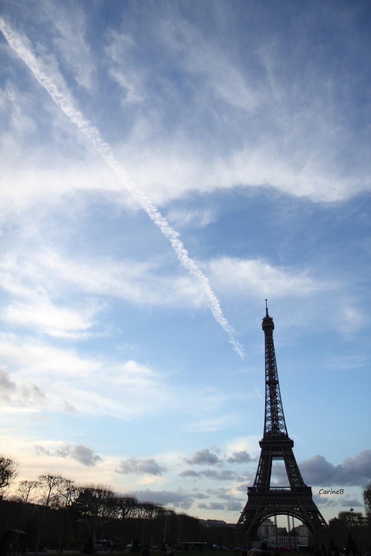 The Clouds Target. Paris