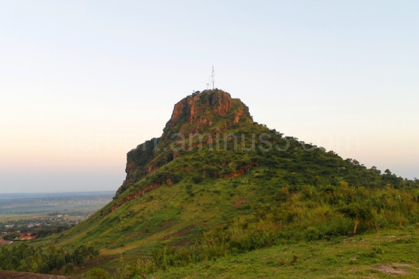 the famous tororo rock in the easter of uganda