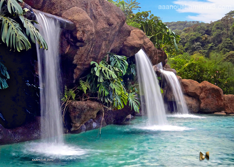La Paz Waterfall Gardens Landscape Rural Photos Aaanouel 39 S Photoblog