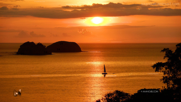 playa hermosa guanacaste beach sunset aaanouel