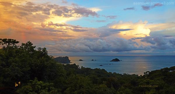 manuel antonio costa rica sunset clouds aaanouel