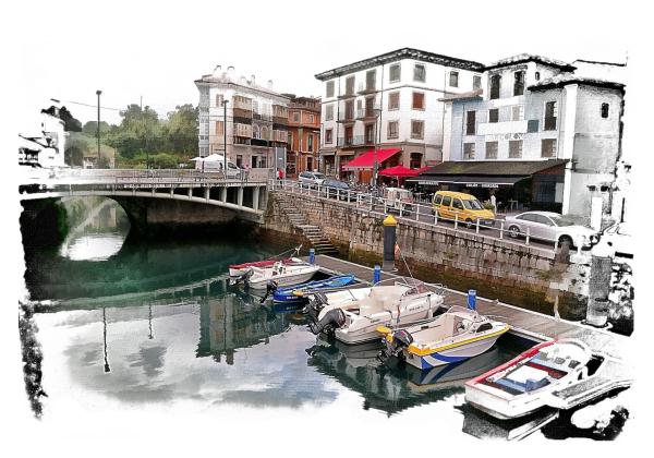 Llianes  Asturias Spain effect jm.1953 aaanouel