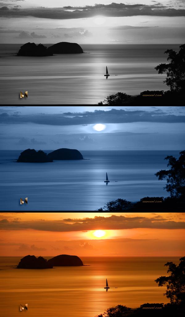 Sunset or Moonrise...