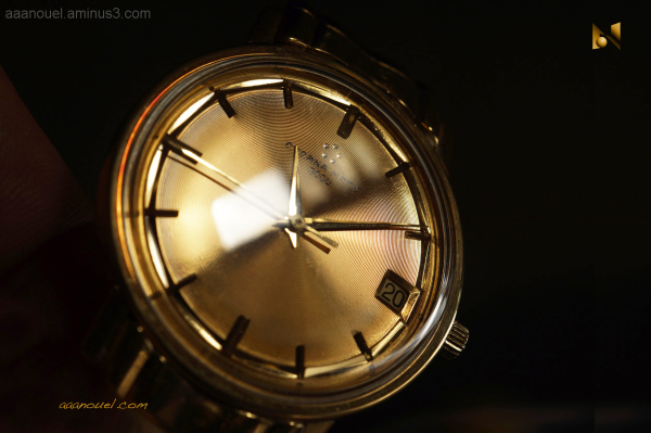 Solid gold Eterna-Matic 3000 watch aaanouel macro
