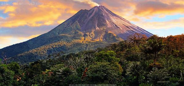 Arenal volcano Costa Rica aaanouel Fortuna volcan