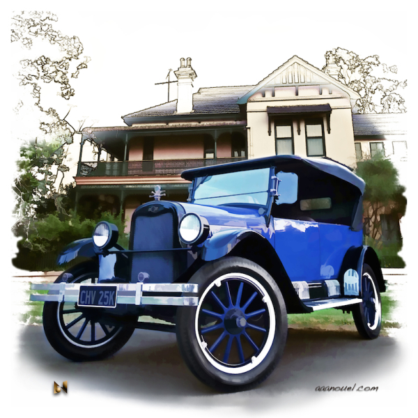 Ryan Chevrolet Chevy 1920 AU aaanouel vintage