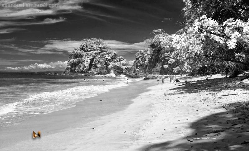 punta leona beach costa rica aaanouel False IR