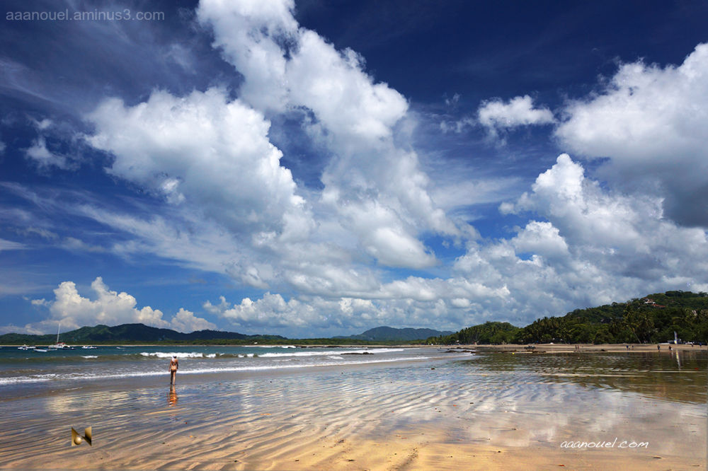Tamarindo Beach playa aaanouel costa rica clouds