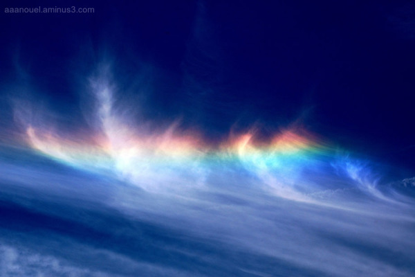Fire rainbow aaanouel Jeff Kubina