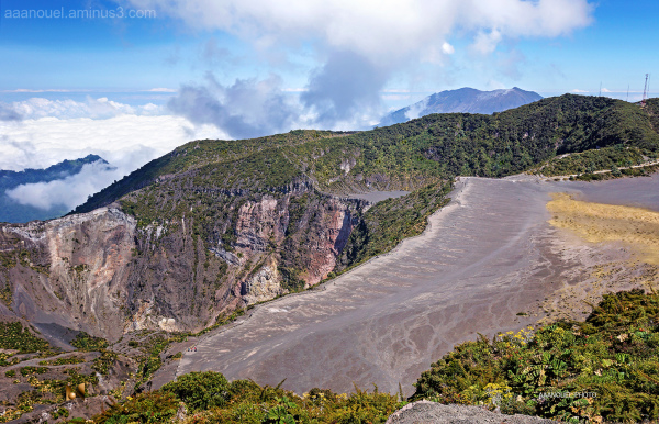 irazu volcano above sea level aaanouel Costa Rica
