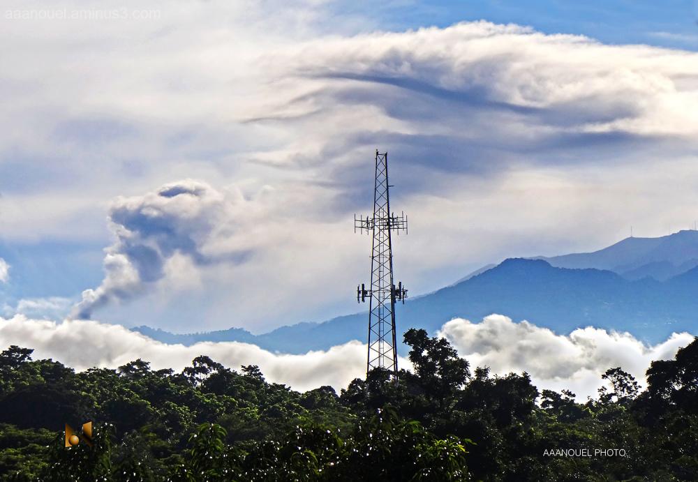 Turrialba volcano ash cloud costa rica aaanouel