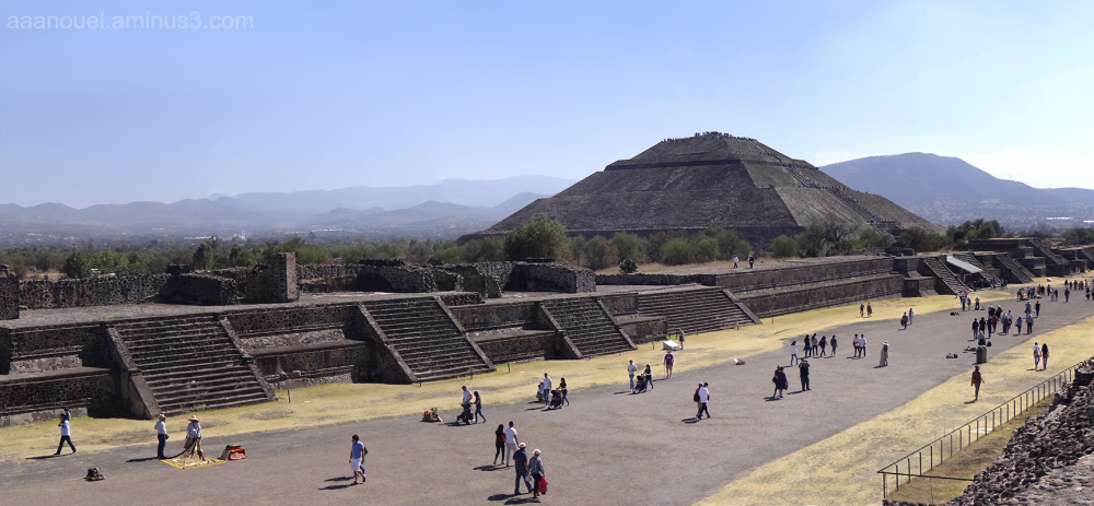 Teotihuacán piramid mexico aaanouel