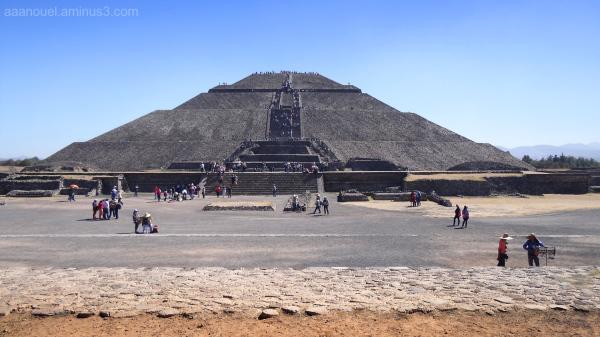 Teotihuacán Sun Piramid México aaanouel
