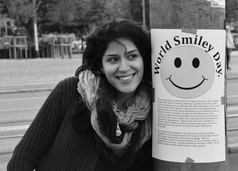 Image result for روز جهانی لبخند