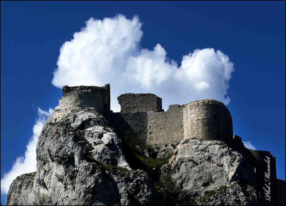 cathare peyrepertuse chateau