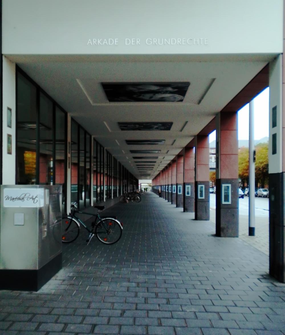 Arkade der Grundrechte,Darmstadt
