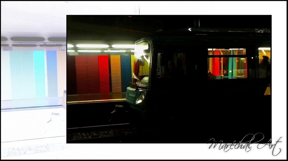 Subway in Frankfurt