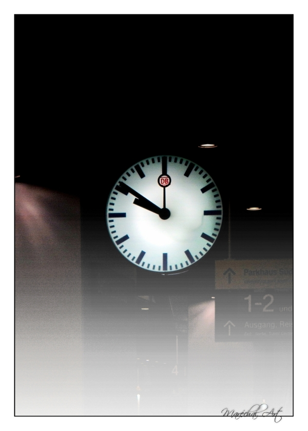 German Station Clock