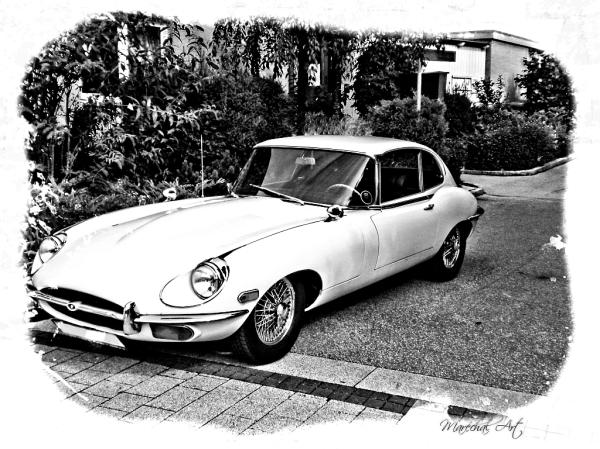 Jaguar car in Austria
